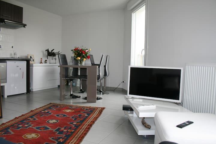 Appartement au calme tout confort limite Bordeaux - Artigues-près-Bordeaux - Flat
