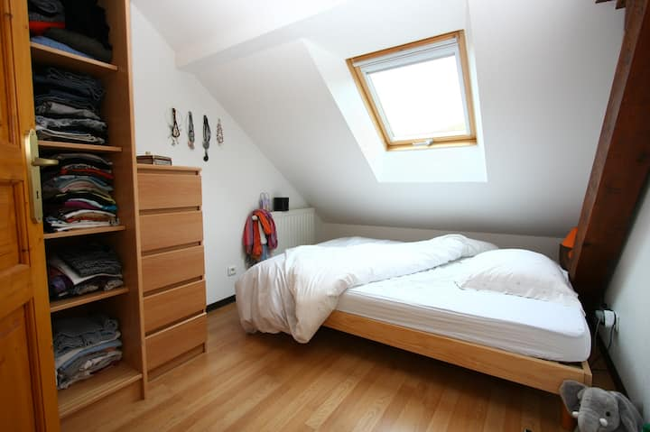 Apartment-Designer-Ensuite-Countryside view-gite 7 chambres