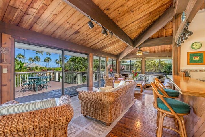 Perfect Hanalei location & great views TVNCU#1106