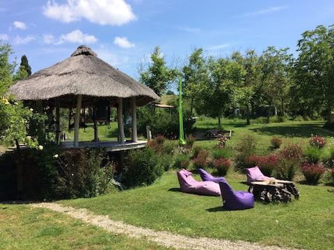 Castelmuzio relaxing Paradise nestled near Pienza