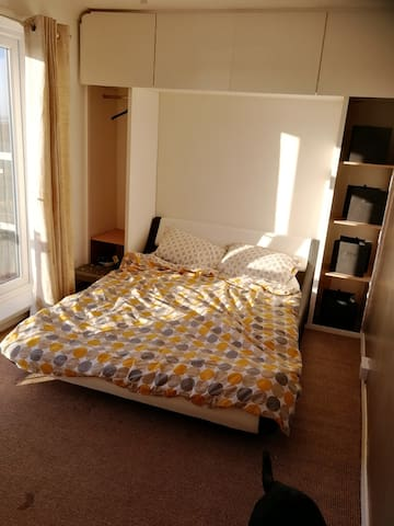 Solent balcony view- Double bedroom