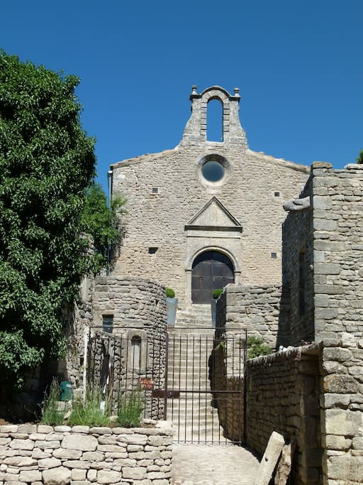 Features in Elle Decoration Country 2017. Beautifully restored 10th century Chapel in the Luberon