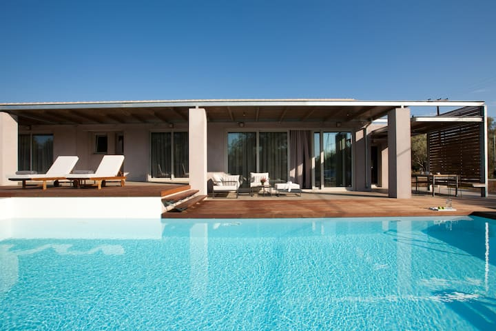 Kozanitis Brand New Exclusive Villa With Private Pool (Agrikies Villas)