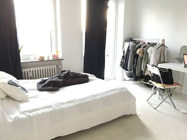 Zentrales, helles Zimmer im Herzen von Hamburg