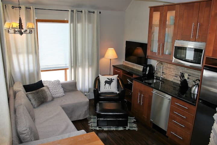 Charmant & luxueux condo ski in/out Mont Tremblant