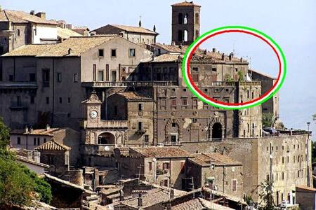 Bomarzo / Orsinischloss / Penthouse - Bomarzo - Hrad