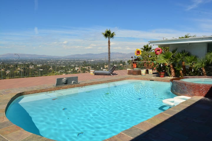 Hollywood hills stunning best view