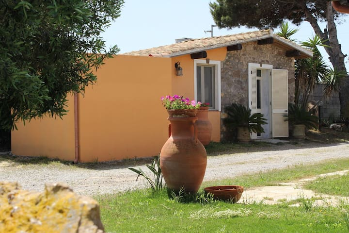 Cozy Cottage in Calasetta Sardinia with garden