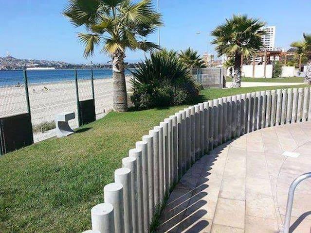 Depto con Acceso directo a Playa La Herradura - Coquimbo - Appartamento