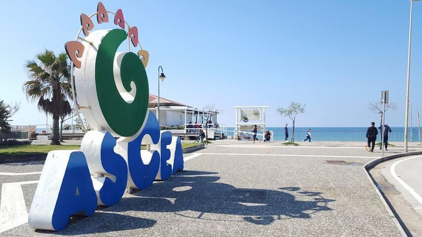 CasaVacanzeAsceaMarina, nel cuore del Cilento - Marina di Ascea - Huoneisto