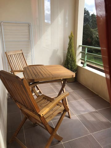 Petit appartement tout confort au calme