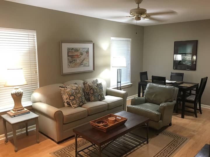 Fairhope Condo Overlooking Bay