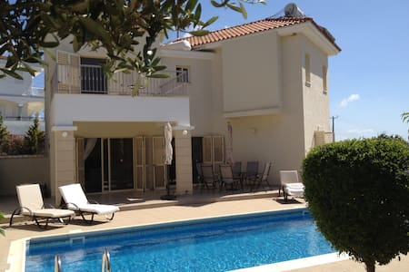 Luxury villa with stunning views Pissouri village - Pissouri