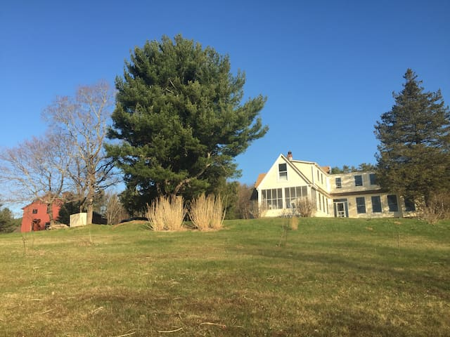 Hilltop has views and 15 acres of open property!