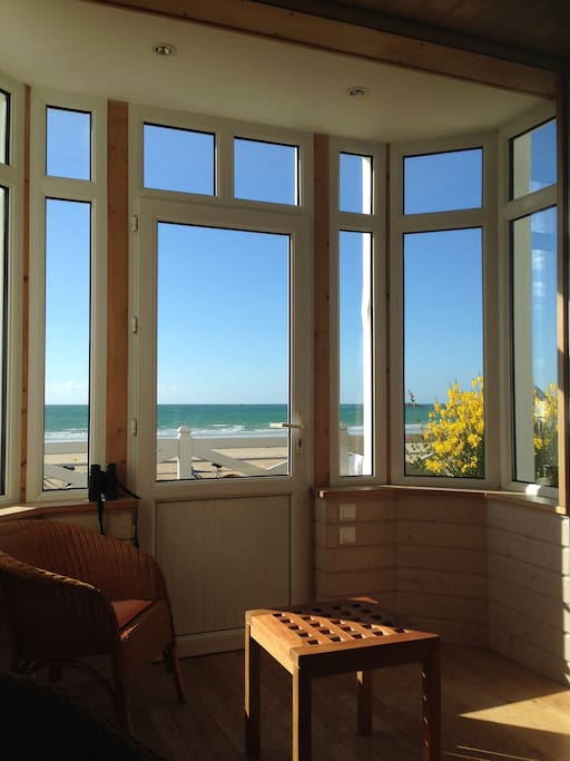 Bow window vue mer