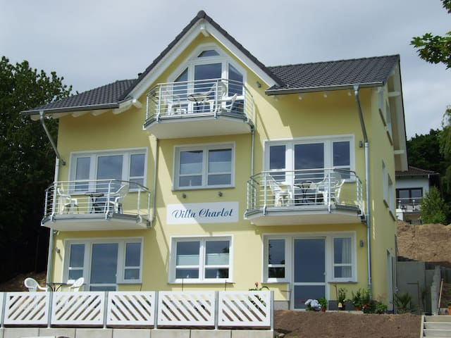Villa Charlot - Wohnung Ruden mit Balkon **** - Göhren - Byt