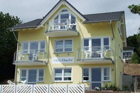 Villa Charlot - Wohnung Ruden mit Balkon **** - Göhren