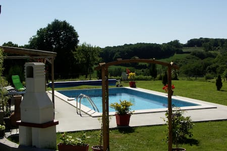 Chalet de Rose,  2 Bedroom Gite with Heated Pool