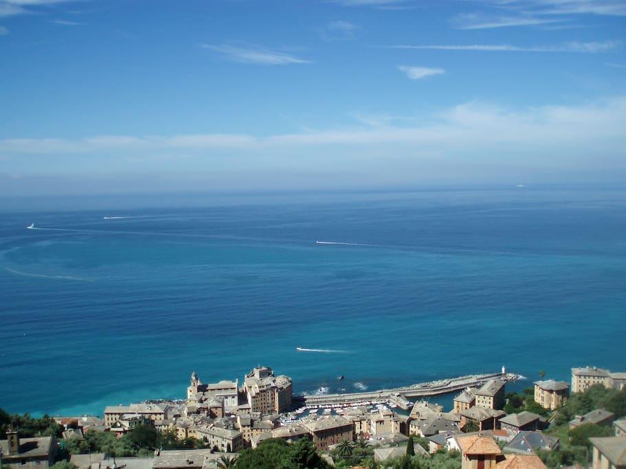 Panorama Camogli view