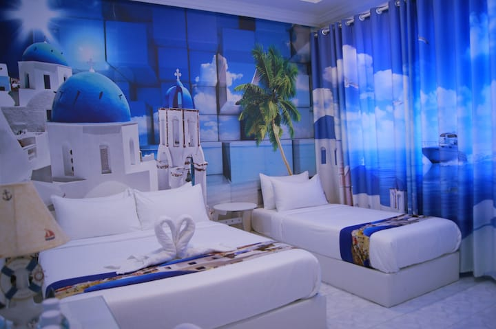 Santorini Hotel Melaka,Jonker Street,Triple R3