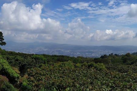 Amazing View - Cabin on Volcano Mt. - San Salvador - Dům