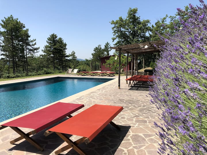 Elegant Villa-Castle, 40m. from Florence, 20+6pax