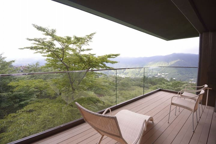 Hakone From 2 pax遥or函★Private outdoor bath+Breakfast&Dinner★A Relaxing Vacation at a Japanse traditional inn【With meal】