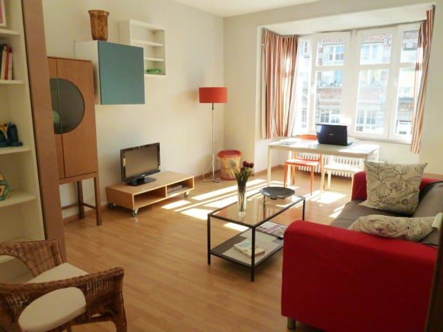 Grand Appartement Lumineux avec Loge sur Beffroi