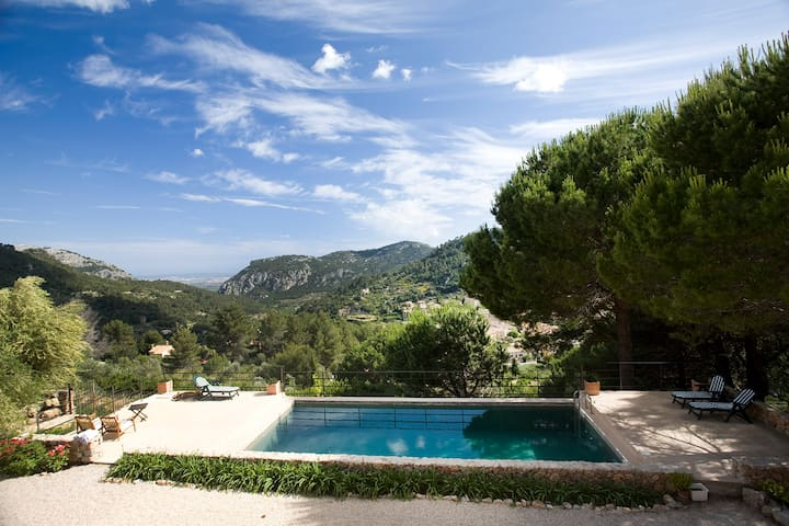 CAN PINS VERDS - House for 8 pax in Valldemossa