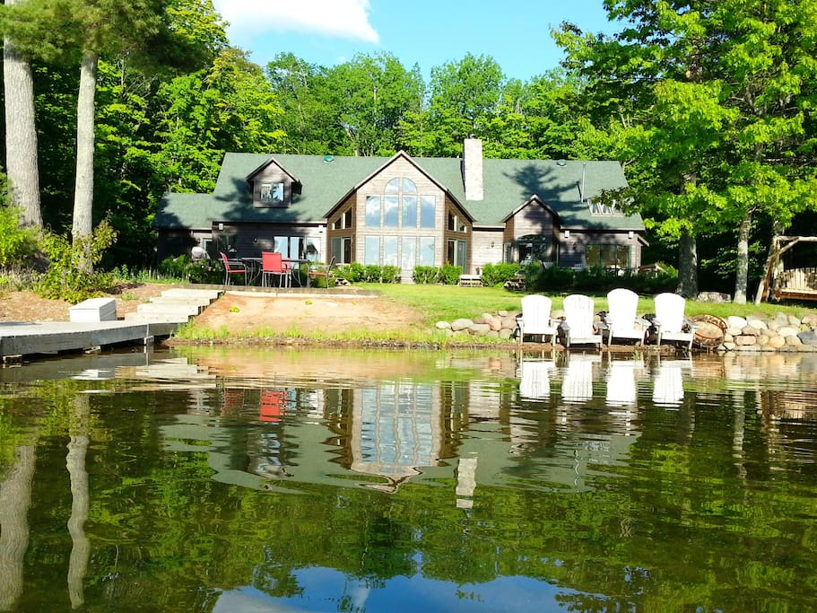 Spend days swimming, fishing and boating in the waters of Durphee Lake!