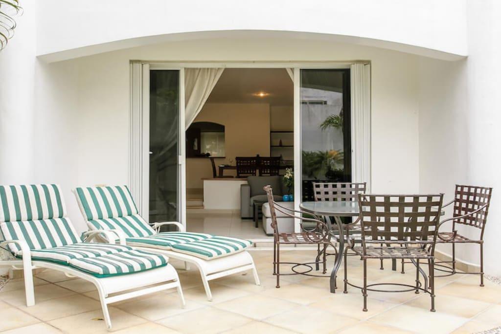 b rentals playa del carmen mayamar rose terrace