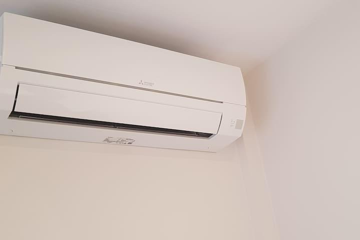 Aire Acondicionado individual en cada dormitorio