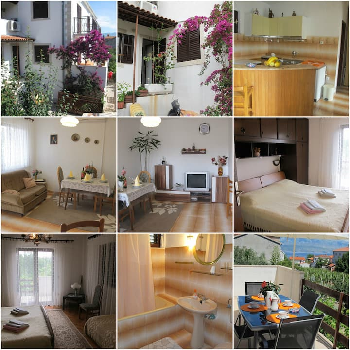 Lovely apartment with see view -Apartman Dimic 2