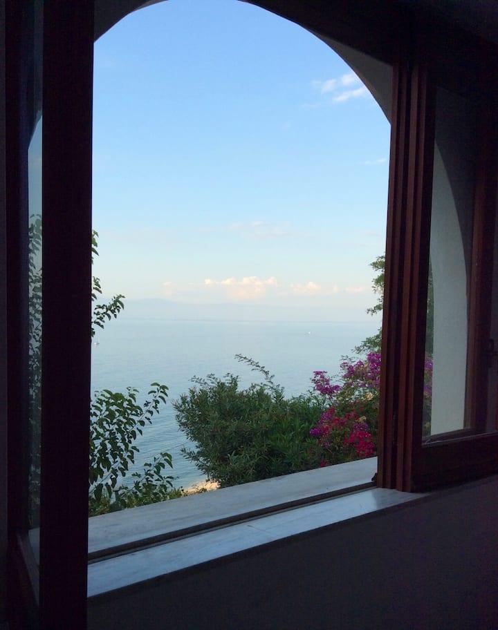 Finestra sul mare di Calabria