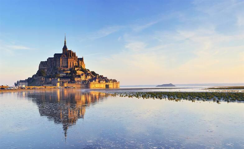 Chambre d'hôte en baie du Mont Saint-Michel
