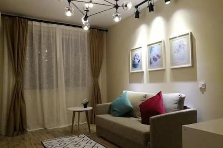 近陆家嘴商圈的地铁两房,北欧风格,全屋地暖,放松惬意的享受。 - 上海