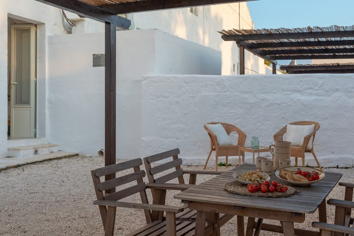 Fire Apartment in Masseria with pool
