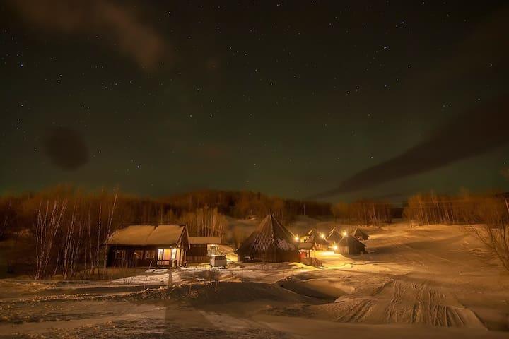 ARCTIC CABINS - Borealis - Misvær - Kulübe