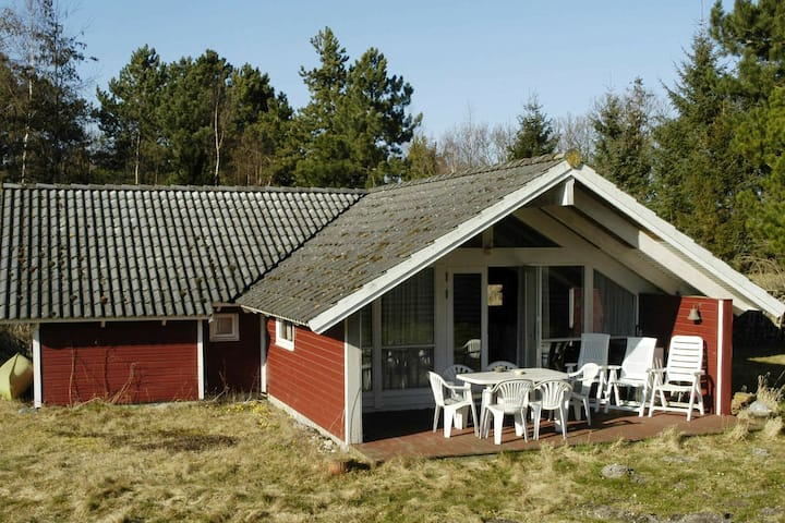 Gorgeous Holiday Home in Martofte with Roofed Terrace