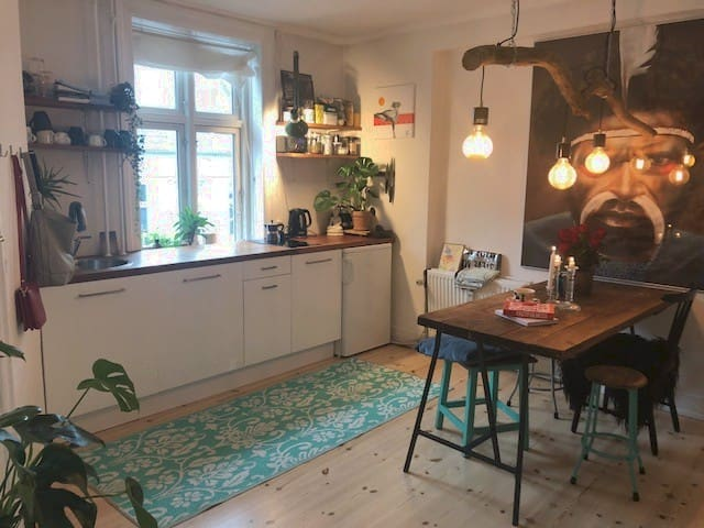 Cozy home in the center of CPH's most vibrant area