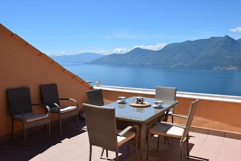CASA ELENA - Eine Terrasse am Lago Maggiore