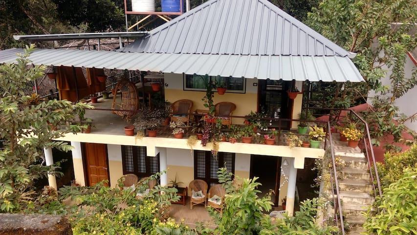 Periyar Inn room with balcony