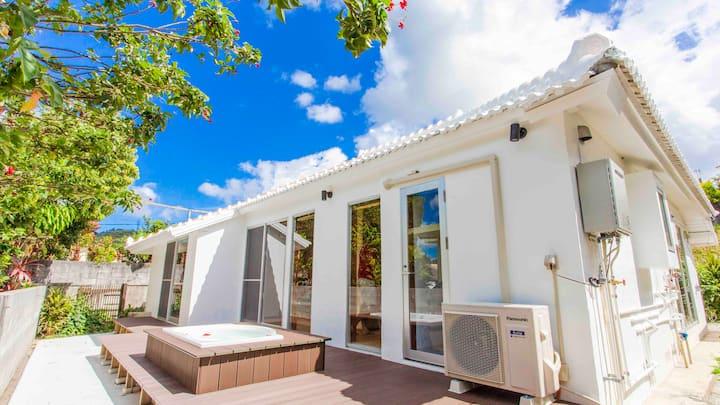 沖縄 古民家 平屋建て 海|空|緑 自然を感じる家