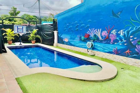 Central Jaco ☀︎ Private Pool & 2 Blocks to Beach!