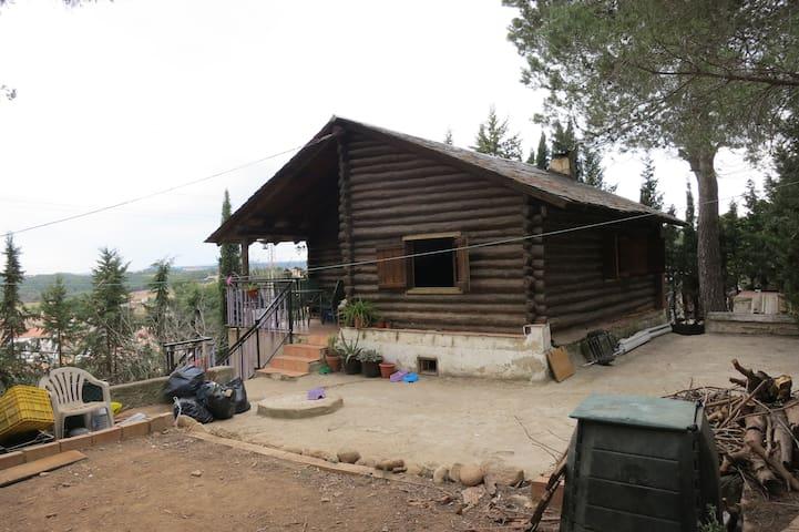 Casa en el campo en las afueras de Barcelona - Piera - Přírodní / eko chata