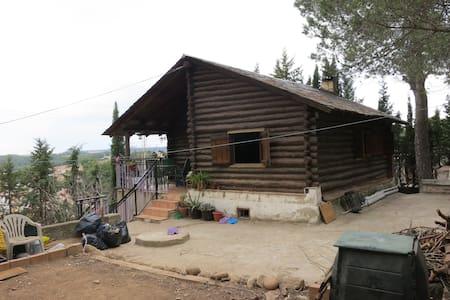 Casa en el campo en las afueras de Barcelona - Piera - Nature lodge