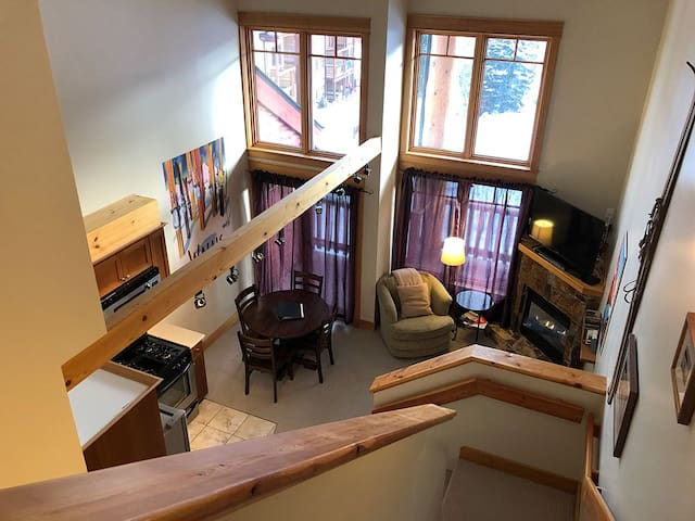 Eagles Nest loft at Red Mountain.