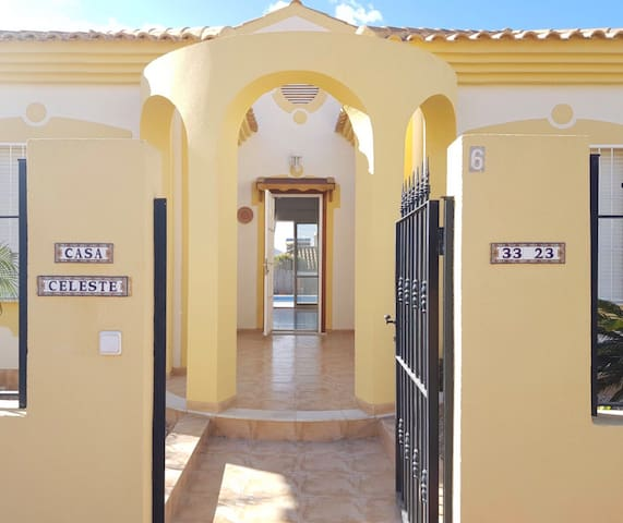 Casa Celeste with private pool