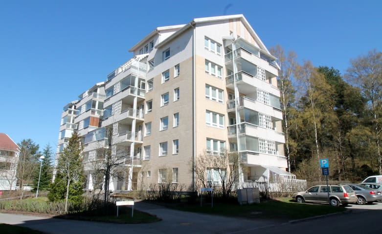 Forenom two bedroom apartment with (sauna and balcony) in Turku