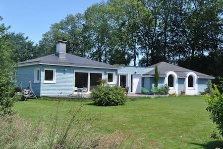 chambre double dans la maison bleue - Yvetot - House